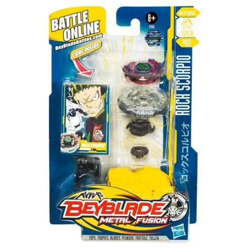Beyblade Rock Scorpio Battle Top