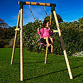 Plum Bush Baby Wooden Single Swing Set