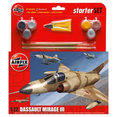 Airfix Db Mirage Iii 1:72 Scale Cat 2 Gift Set