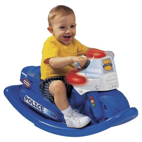 Little Tike Police Cycle Sound Rocker