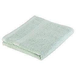 Tesco Pure Cotton Hand Towel Duck Egg