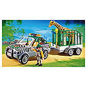 Playmobil 4855 Zoo Vehicle