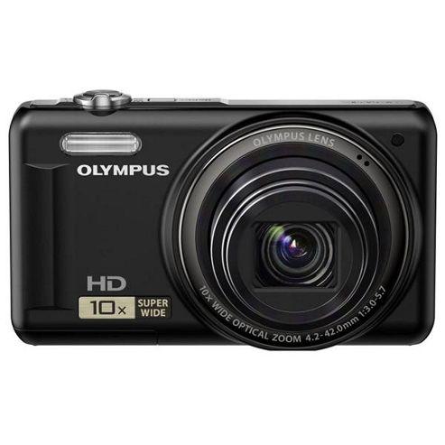 buy olympus vr 310 digital camera black (14mp, 10x super