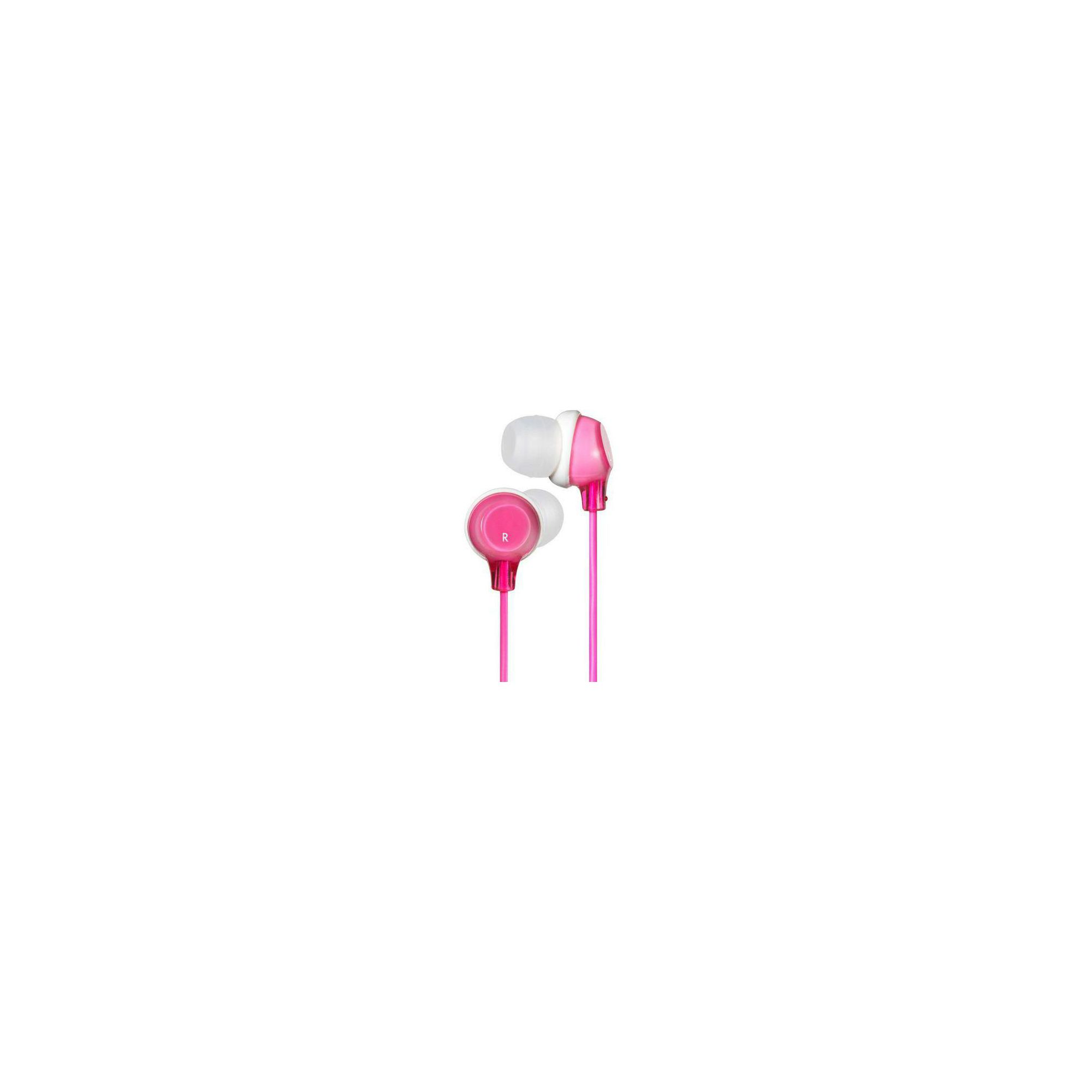 Offerta: JVC Clear Colour Stereo Headphones Pink HAFX22P