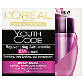 L'Oreal Dermo Expertise Youth Code Anti Wrinkle Day Cream 50ml