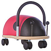 Wheelybug Ladybird Ride-On Toy, Small