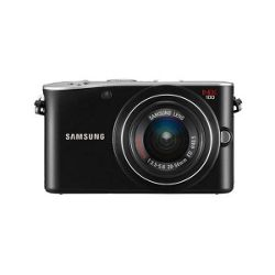 Samsung NX100 Black 20-50mm lens 14MP Compact System camera