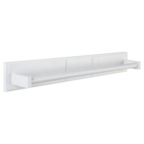 Croydex Long Towel Rail White