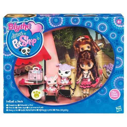 Littlest Pet Shop Travel Blythe Paris with 2 Pets