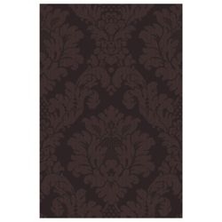 Arthouse Da Vinci damask chocolate wallpaper