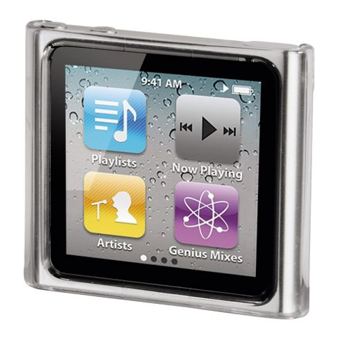 Hama Crystal Case MP3 Window Case for iPod nano 6G