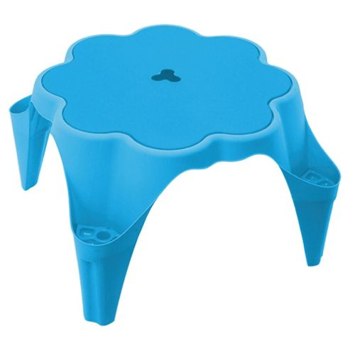 Tesco Flower Sand & Water Play Table, Blue