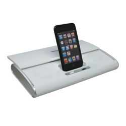 Venturer White iPod Dock Compact High Performance