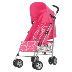 Obaby Atlas Pushchair, Pink Scribble