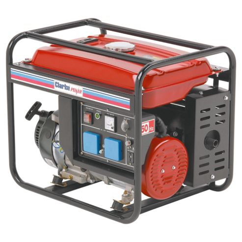 Clarke FG3000 2.8kVA Portable Petrol Powered Generator