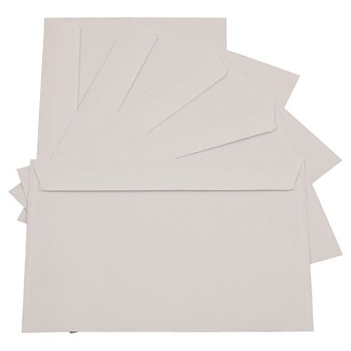 White C4 Envelopes, 250 Pack