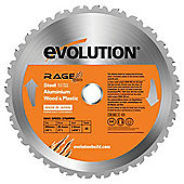 Evolution RAGE 255mm Multipurpose TCT Blade (Orange)