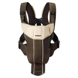 BabyBjorn Baby Carrier Active, Brown / Beige