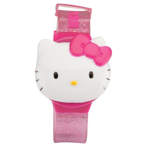 ZEON Ltd Hello Kitty Children's Flip Lid LCD Watch