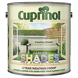 Cuprinol Garden Shades, Country Cream, 2.5L
