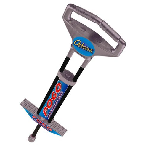 Ozbozz Pogo Stick, Black/Silver