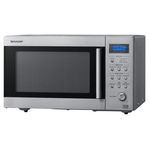 Sharp R27STMA 22L 800W Touch Microwave - Stainless Steel
