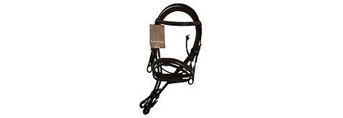 Cottage Craft Oxford Bridle with Reins Havana Cob