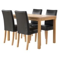 Banbury 4 Seat Set, Oak