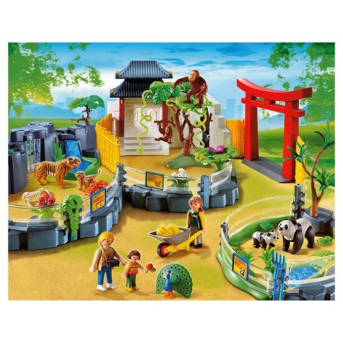 Playmobil 452 Asian zoo garden