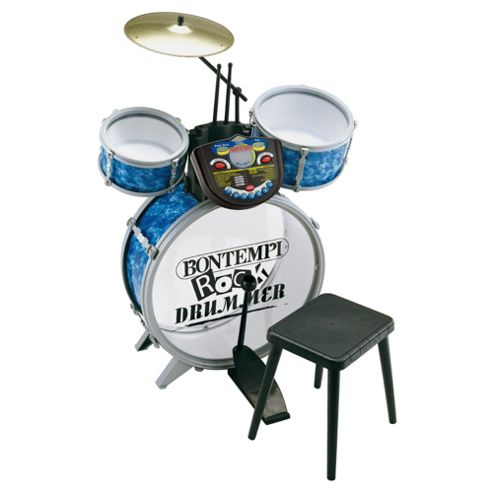 Bontempi Je5600 4 Pcs Drum Set With Electronic Tutor Utor