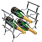 George Wilkinson 12 Bottle Winestak - Chrome