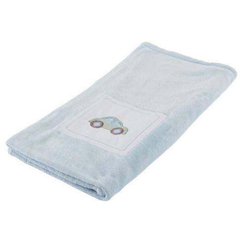 kids Line Mosaic Transport Boa Cot Bed Blanket