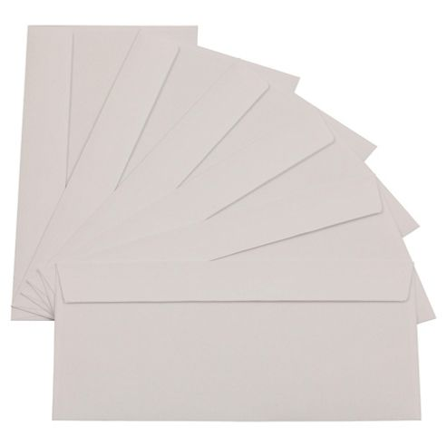 White D1 Envelopes, 500 Pack