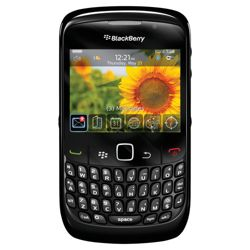 Orange BlackBerry® Curve™ 8520 Black Includes £10 top-up