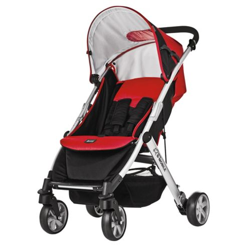 Britax B Mobile Pushchair, Red