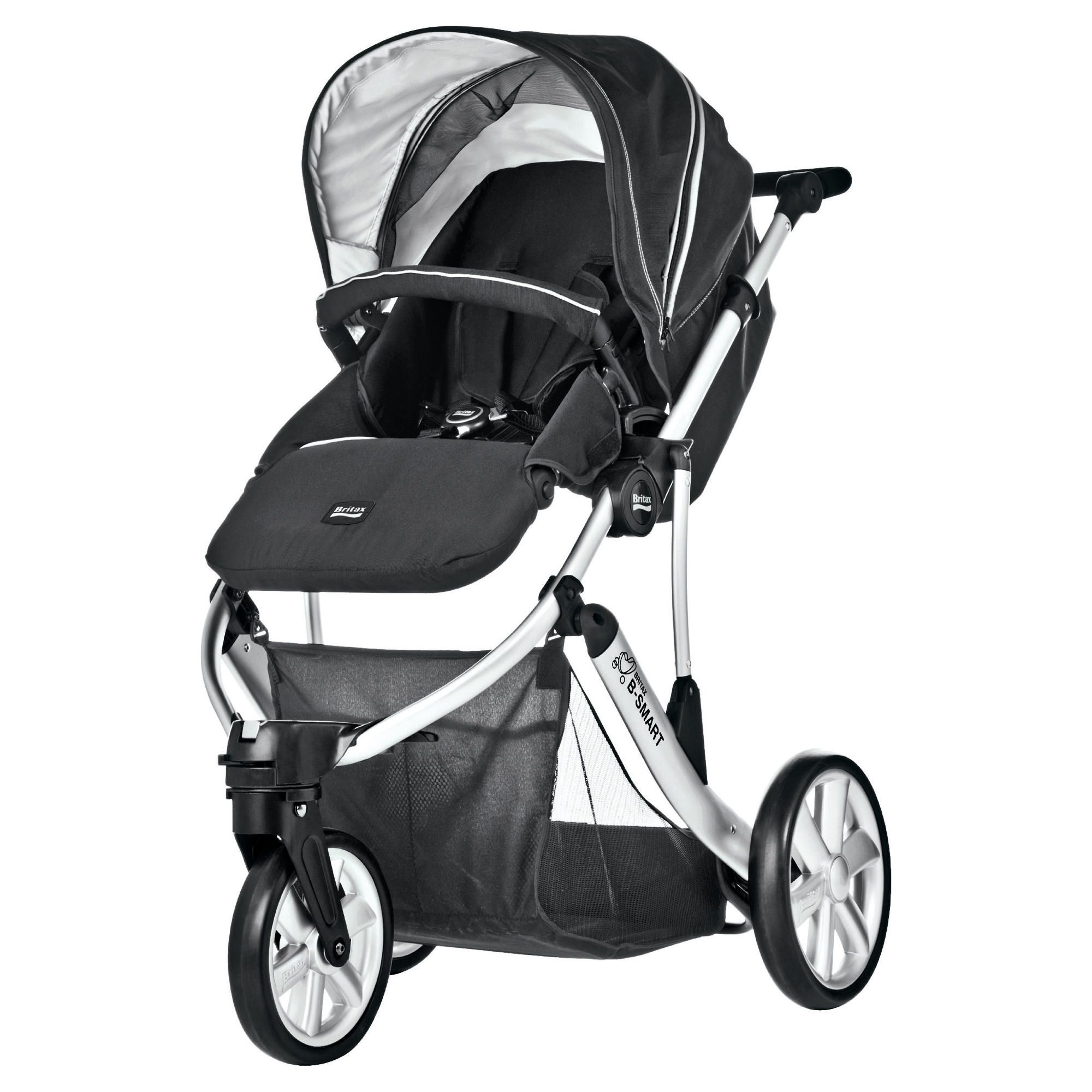 Britax B Smart 3 Wheeler Neon Pushchair, Black at Tesco Direct