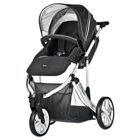 Britax B Smart 3 Wheeler Neon Pushchair, Black