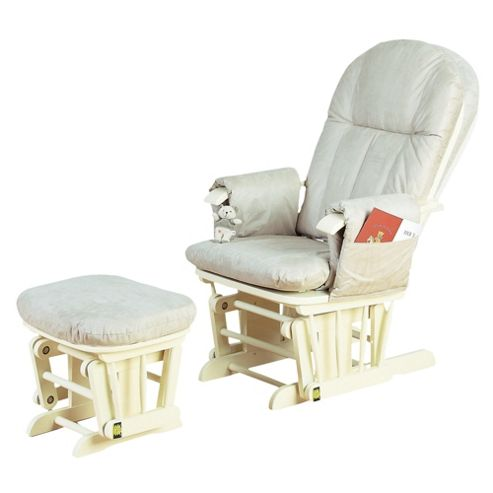 Tutti Bambini GC35 Glider Nursing Chair, Vanilla