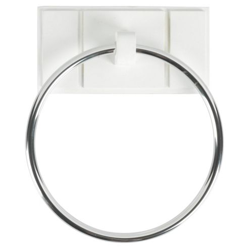 Croydex Towel Ring White