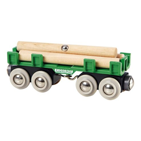 Brio Classic Accessory Lumber Loading Wagon, wooden toy