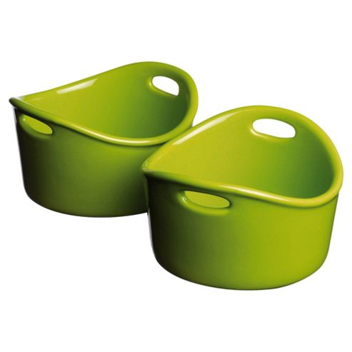 This Morning By Prestige Set of 2 Ramekins, Green