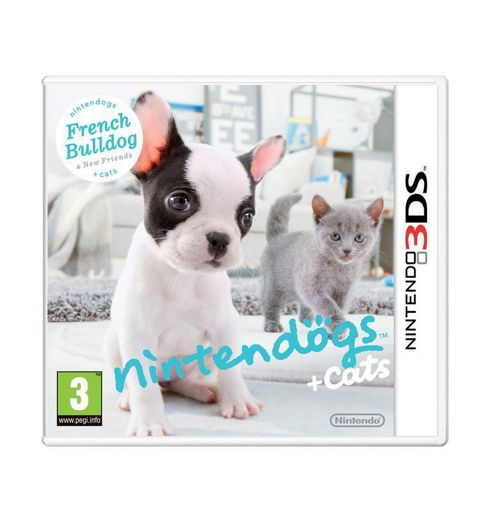 Nintendogs + Cats - French Bulldog And New Friends (3DS)