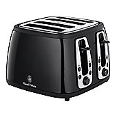 Russell Hobbs 18371 Heritage Traditional Black 4 Slice Toaster