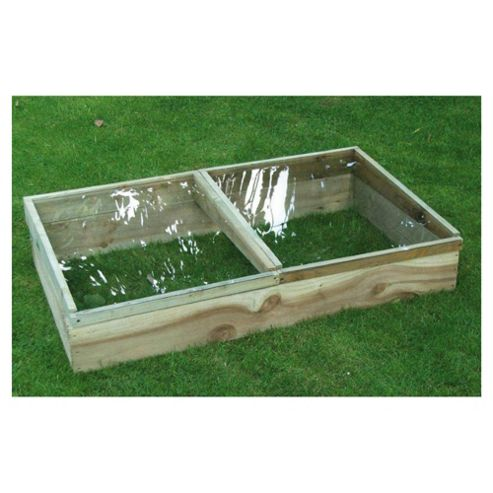 90x60cm Wooden Planter Cold Frame
