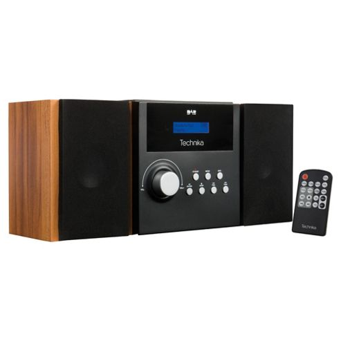 Technika Mc1103db Dab/Cd Dual Alarm And Hifi Black