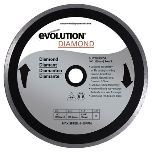 Evolution 255mm Diamond Blade