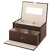 LC Large Chocolate Jewellery Box