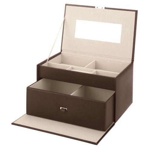 LC Large Chocolate Jewellery Box