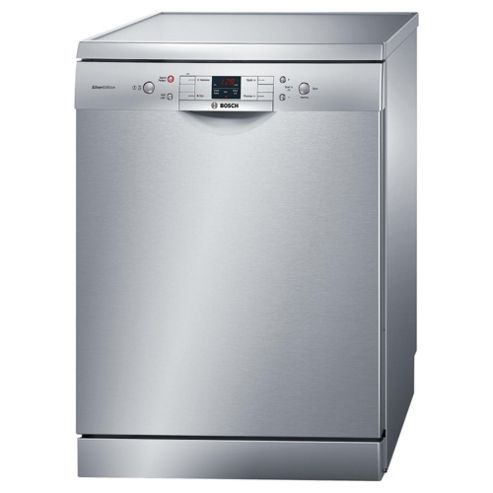Bosch Avantixx SMS40A08GB Full Size Dishwasher, A+ Energy Rating. Silver
