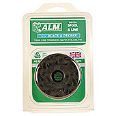 ALM Filled Spool for Black & Decker twin line GL700 series Grass Trimmers, 2 pack